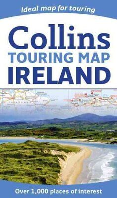 Collins Ireland Touring Map by Collins Maps 9780008183738