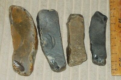 Neolithic Or Later Flint   Firelighting Or Rubbing Stones(British)