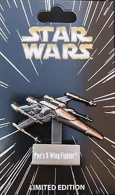 Disney Star Wars Pin Of The Month Vehicles Poe's X-Wing Fighter Le 4000