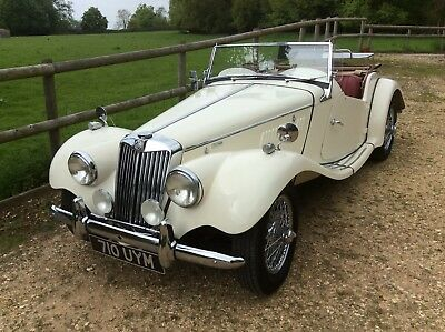 MG TF. 1955. 1500cc In Old English White.
