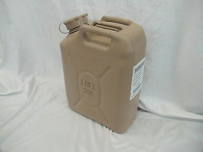 New Scepter Us Military Fuel Can Gas Jerry Can 5 Gal 20L - Desert Tan