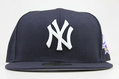 b7f9639e068 New York Yankees Navy 1998 World Series Patch MLB New Era 59Fifty Fitted  Hat Cap
