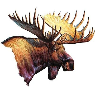 Rivers Edge Products Moose Car Truck Magnet Stick On Huntinh Nature Wildlife