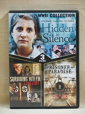 WWII Collection: Hidden in Silence/Surviving Hitler/Prisoner of Paradise (DVD)