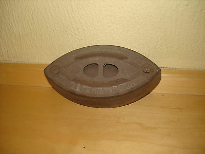Vintage Sad Iron Size #3 A.c. Williams Co., Ravenna Oh Missing Handle Great Item