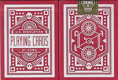Wheel Red Playing Cards Poker Size Deck USPCC Custom Limited Edition New Sealed