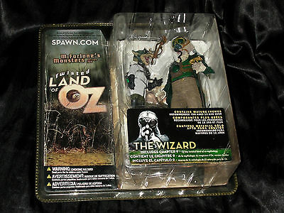 WIZARD THE SCIENTIST TWISTED LAND OF OZ - McFarlane Monsters Zauberer Figur OVP