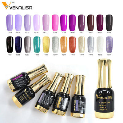 Artlalic 12ML Soak Off  UV Gel Venalisa Nail Varnish Paint Shimmer Gel Top Coat
