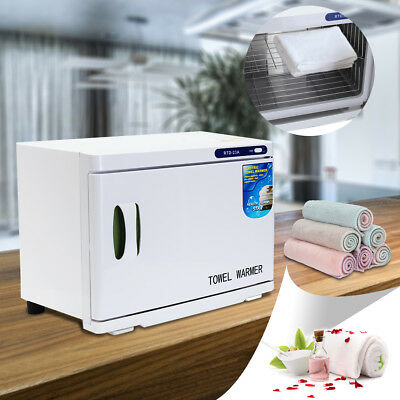 HOT 23L UV Towel Sterilizer Warmer Cabinet Disinfection Heater Hot Hotel Salon
