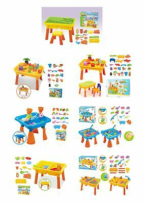 Vinsani Kids Sand & Water Activity Play Table Set with Accessories