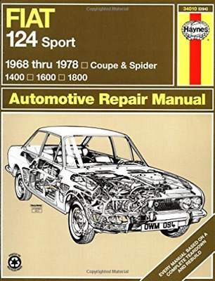 Fiat 124 Sport Coupe And Spider (  Book New