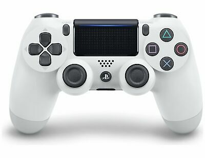 Sony Playstation PS4 DualShock 4 V2 Wireless Controller - Glacier White.