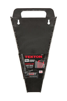 TEKTON 79352 15-Tool Store and Go Wrench Keeper, Made in the USA ( Black )