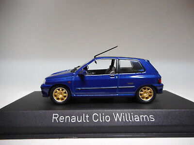 Renault Clio Williams 1996 Blue Norev 1:43