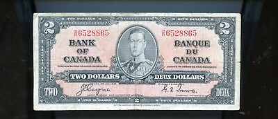 1937 Bank of Canada $2 Coyne Towers  BL4015