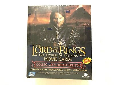Topps The Lord Of The Rings The Return Of The King Movie Card  Box