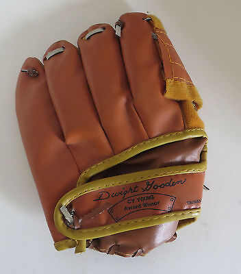 Vtg Child's Dwight Doc Gooden Cy Young Award Winner Baseball Glove Mit NY Mets