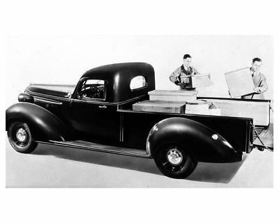 1938 Hudson Terraplane Cab Pickup Truck Factory Photo ua8447-HZHHEN