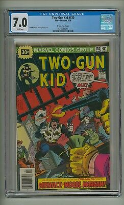 Two-Gun Kid 130 (CGC 7.0) White pages; 30 cent price variant; 1976 (c#18920)