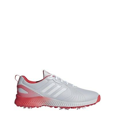 b01069b13 NEW 2018 ADIDAS Women s Response Bounce Grey White Coral Golf Shoes ...