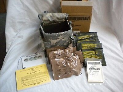 New Chemical Agent Detector Kit M256A2 Acu Digital Molle Pouch Exp. 2019