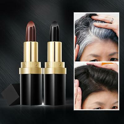 Temporary Cosmetic Cover Grey White Hair Touch Up Hair dye Hair Color Lipstick