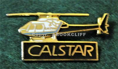 CALSTAR AIR AMBULANCE MEDICAL HELICOPTER Lapel Pin Mint
