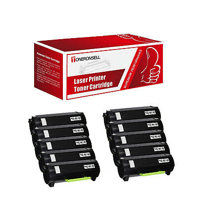 Remanufactured 51B1000 10PK for Lexmark Made in USA Toner for MS317 MX317