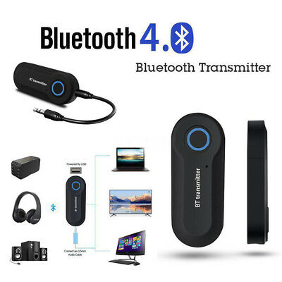 3.5mm Wireless Bluetooth Transmitter Stereo Audio Music Dongle Adapter for PC TV