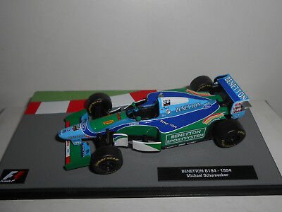 Benetton B194 Michael Schumacher 1994 Collect Formula F1 Ixo 1:43
