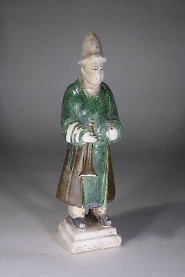 Antique Chinese Tang Earthenware Musician Figurine (No:2)