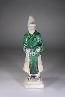 Antique Chinese Tang Earthenware Musician Figurine (No:3)