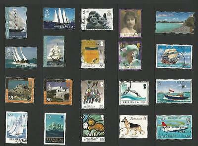 y4828 Bermuda /  A Small Collection  Early & Modern Used
