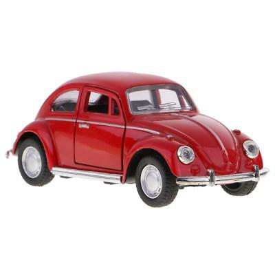 Alloy Classic Sedan Car Model Die-cast Toy Metal Crafts 1:32 Scale Red