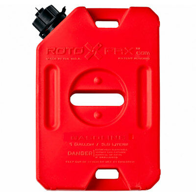 RotopaX Durable Leakproof 1 Gallon EPA Safe Gasoline Container and Spout, Red