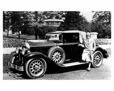1929 Buick Photo First Woman to Swim English Channel Gertrude Ederle ub2588
