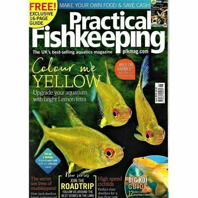 Practical Fishkeeping Magazine June 2018 Issue 6 PFK Mag Aquarium Ponds Fish Pet