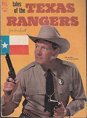 4-COLOR TALES OF THE TEXAS RANGERS #396 1952 VG/FN -JACK PEARSON #1 PHOTO-c DELL