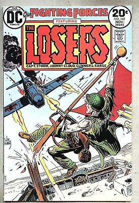 Our Fighting Forces #145-1973 fn- The Losers Joe Kubert