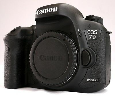 Canon EOS 7D Mark II 20.2MP Digital SLR Camera - Black (Body Only) #7D Mark II