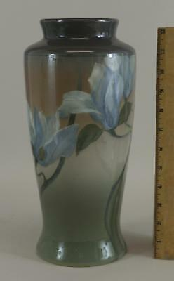 Antique Early 20thC Rookwood Arts & Crafts Pottery Vase Ed Diers Flowers ... NR