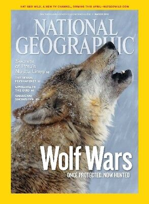 NATIONAL GEOGRAPHIC MAGAZINE  -  March 2010
