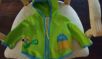 Hanna Andersson Infant Hoodie Jacket and Sunhat NWT