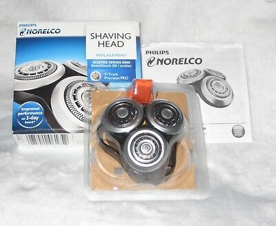 AUTHENTIC NEW Philips Norelco RQ12 PRO Replacement Head SensoTouch 3D SH90 RQ10