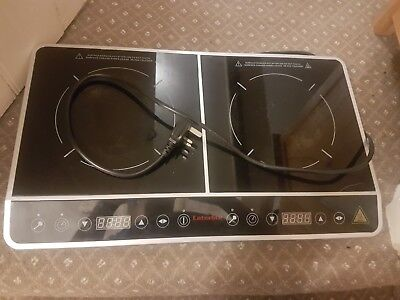 Buffalo Caterlite GG769 Double Hob Induction Cooker free postage