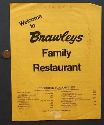 1950S WOOLWORTH LUNCH Counter Menu Reprint On 60 Year Old