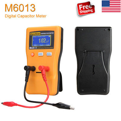 Digital Capacitance Meter LCD 0.01pF - 470000uF Measure Measuring Instrument New