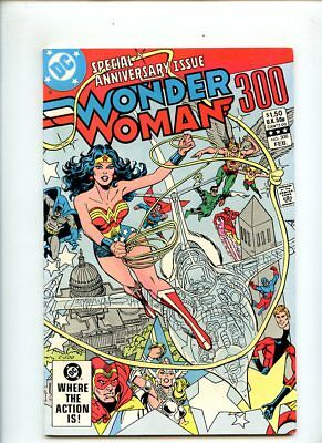 Wonder Woman #300 (1983) 1st Appearance Lyta Trevor (Fury) NM 9.4