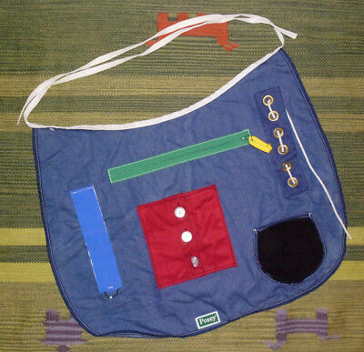 Activity Apron POSEY 7400 medical tactile cognitive dexterity hand therapy tool
