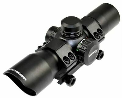 Sniper 35mm Compact RG Dot Scope With Mount, Black, LTRD35 Red Dot Sight